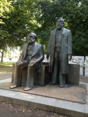 Karl Marx und Friedrich Engels
