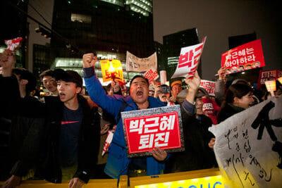 Wut über die Korruption ist weit verbreitet. (Workers Solidarity)