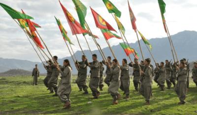 Kurdische Milizen im Kampf gegen den Türkischen Staat. Foto: Kurdishstruggle, licensed under CC BY 2.0, Kurdish PKK Guerillas, via flickr.com